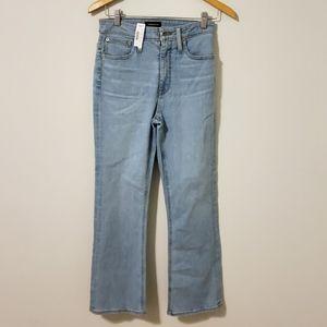 NWT J. Crew Jeans 27 Curvy Billie Demi Boot